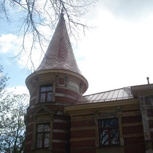 Torņa jumta seguma maiņa