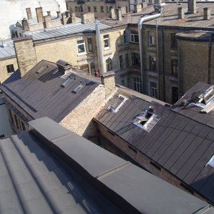 Bēniņstāva izbūve jumta ieklāšana un siltināšana