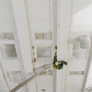 Graudu elevatora betona torņa atjaunošana 6000m2