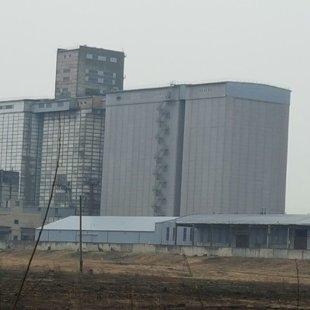 Graudu elevatora betona silosu atjaunošana 16000m2